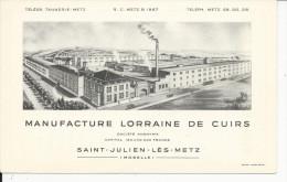 10x15   Manufacture  Lorraine De Cuirs    à Saint Julien Les Metz - France