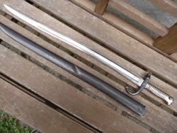 BAIONNETTE CHASSEPOT Modèle 1866 - Knives/Swords