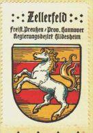 Werbemarke (Reklamemarke, Siegelmarke) Kaffee Hag : Wappen Von Zellerfeld - Tea & Coffee Manufacturers