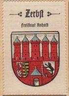 Werbemarke (Reklamemarke, Siegelmarke) Kaffee Hag : Wappen Von Zerbst - Tea & Coffee Manufacturers