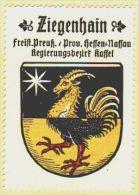 Werbemarke (Reklamemarke, Siegelmarke) Kaffee Hag : Wappen Von Ziegenhain (type 2) - Tea & Coffee Manufacturers