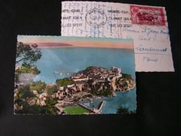 == Monaco 2 Alte Karten 1950 - Fürstenpalast