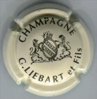 CAPSULE-CHAMPAGNE LIEBART G & Fils N°06 Crème & Noir - Other