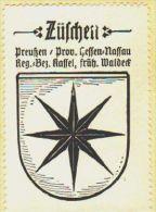 Werbemarke (Reklamemarke, Siegelmarke) Kaffee Hag : Wappen Von Züschen - Tea & Coffee Manufacturers