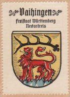 Werbemarke (Reklamemarke, Siegelmarke) Kaffee Hag : Wappen Von Vaihingen - Tea & Coffee Manufacturers