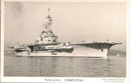 CPA-1965--NAVIRES GUERRE-PORTES-AVIONS-CLEMENCEAU-Editeur -Maruis BAR-TBE - Guerre