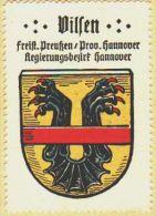 Werbemarke (Reklamemarke, Siegelmarke) Kaffee Hag : Wappen Von Vilsen - Tea & Coffee Manufacturers