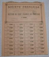 Societe Française, Place Vendome à Paris - Industrie