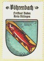 Werbemarke (Reklamemarke, Siegelmarke) Kaffee Hag : Wappen Von Vöhrenbach - Tea & Coffee Manufacturers