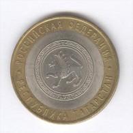 10 Roubles / Rubles Russie / Russia Bi-métallique / Bimetalic 2005 Tatarstan - Russia