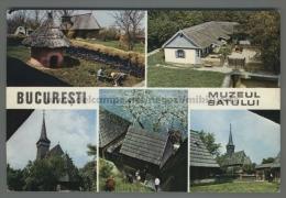 U3248 ROMANIA BUCARESTI MUSEUL SATULUI VG SB (tur) - Romania