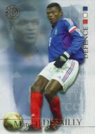 FOOT CARD FUTERA WORLD FOOTBALL - 2004 - N° 07 MARCEL DESAILLY - FRANCE - CARTE NEUVE - Trading Cards