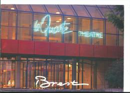 Cpm BREST - Le Quartz Théâtre Palais Des Congrès - Voyagée 1998 - Ed Jos Le Doare - 2 Scans - Brest