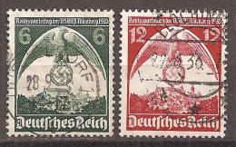 DR 1935 // Michel 586/587 O (5361) - Deutschland