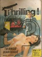 BD. Policier. Thrilling N°13. Triangle Diabolique (Elvifrance) - Autres