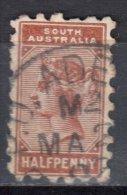 South Australia 1889 Queen Victoria - Mi 51bA - Perf 10 - Used - Usados