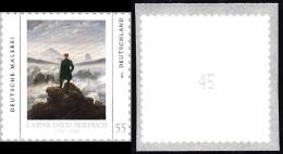 !a! GERMANY 2011 Mi. 2869 MNH SINGLE (coil) W/ Backside Number: (45 / B) -German Painting: Caspar David Friedrich - BRD