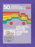 BRD 1983  Mi.Nr. 1182 , Internationale Automobil-Ausstellung -  Maximum Karte - Stempel Bonn - 14.-7.1983 - Weltausstellung
