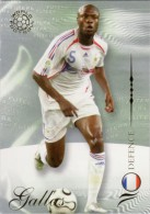 FOOT CARD FUTERA WORLD FOOTBALL - 2007 - N° 030 WILLIAM GALLAS - FRANCE - CARTE NEUVE - Trading Cards
