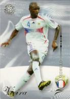 FOOT CARD FUTERA WORLD FOOTBALL - 2007 - N° 125 PATRICK VIEIRA - FRANCE - CARTE NEUVE - Trading Cards