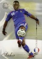 FOOT CARD FUTERA WORLD FOOTBALL - 2007 - N° 178 LOUIS SAHA - FRANCE - CARTE NEUVE - Trading Cards
