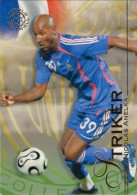 FOOT CARD FUTERA UNIQUE WORLD FOOTBALL - 2008 - N° 103 NICOLAS ANELKA - FRANCE - CARTE NEUVE - Trading Cards