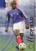 FOOT CARD FUTERA UNIQUE WORLD FOOTBALL - 2008 RUBY - N° 073 CLAUDE MAKELELE - FRANCE - CARTE NEUVE - Trading Cards
