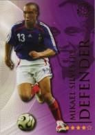 FOOT CARD FUTERA WORLD ON LINE FOOTBALL - 2009 - N° 153 MIKAEL SILVESTRE - FRANCE - CARTE NEUVE - Trading Cards
