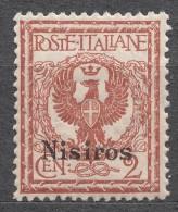 Italy Colonies Nisiros (Nisiro) 1912 Mi#3 VII Mint Never Hinged - Egée (Nisiro)