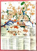 Stadt-Karte Von Königsberg / Preußen  -  Mit Beilage Straßennamen Im Wandel  -  Ca. 1992  -  Maßstab 1:15.000 - Sonstige