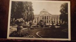 CPA    ALLEMAGNE  WIESBADEN  CURE SALLE AVEC LE JARDIN DE FLEURS  1923 - Wiesbaden