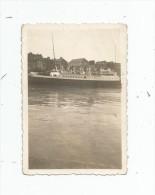 photographie , 6 x 8.5 , bateau , LE TREPORT
