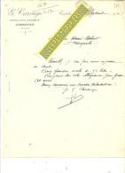 62 - Pas-de-calais - CORBEHEM - Facture CAROUGE - Distillateur Liquoriste – 1904 - REF 184 - 1900 – 1949