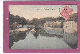 39.- DOLE .- Le Canal Et L' Ecluse - Dole