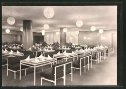 AK Cottbus, Hotel Lausitz, Hotelrestaurant, Innenansicht - Cottbus