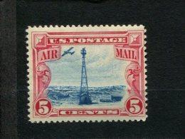 USA  Met Scharnier Mint Hinged Postfrisch Mit Falz SCOTT C11 Beacon On Rocky Mountains - Air Mail