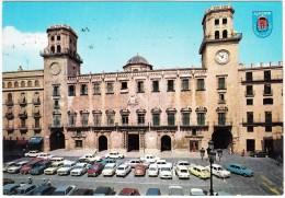 Alicante: CITROËN CX & MEHARI, SEAT 1430, RENAULT 10 & 5, SIMCA 1000, MERCEDES Etc. - Plaza 18 De Julio - Espana - PKW