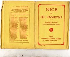 1927 CARTINA NICE - Carte Geographique