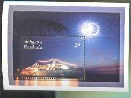 MNH ANTIGUA & BARBUDA #2483 : SOUVENIR SHEET SHIPS FREEWIND IN THE CARRIBEAN ;  ECLIPSE - Antigua Et Barbuda (1981-...)