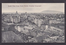 Antique Card, South View From Clock Tower, Bombay, India,K3. - India