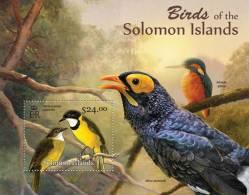 SOLOMON Isl. 2013 MNH** - Birds Of Solomon Islands (II) S/S - Altri