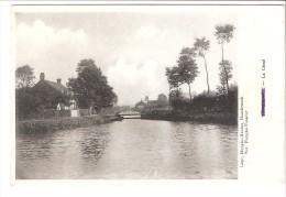 Thiennes (Aire-sur-la-Lys-Haverskerque-Hazebrouck-Nord)-+/-1920-Le Canal-Edit. Imprimerie Huyghe-Mantez, Hazebrouck - Hazebrouck