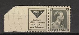 Belgie - Belgique Ocb Nr :  PU114 * MH   (zie Scan) - Werbung