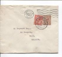 TP Anglais Georges V S/L. C.méc.London 1932 + C.Diamant (Belgium ) PR2104 - 1902-1951 (Könige)