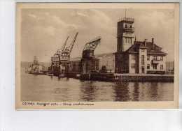POLOGNE - POLAND - Gdynia - Kapitanat Portu - Dzwigi Przetadunkowe - Très Bon état - Polen