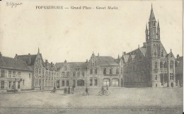 Poperinghe.  -   Grand Place  -  Groot Markt