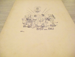 Recueil Promo de l�Amiti� Franco-Britannique.1939/1940.