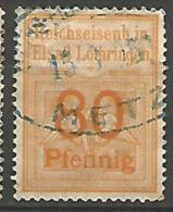FISCAUX / ALSACE-LORRAINE  AN 1905 N� 82