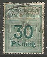 FISCAUX / ALSACE-LORRAINE  AN 1905 N� 77 2�me CHOIX