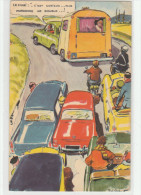Paul ORDNER - Automobiles , Embouteillage , Départ En Vacances , Humour , Grivoiserie . Illustrateur - Ordner, P.